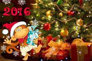 2016 год - год обезьяны