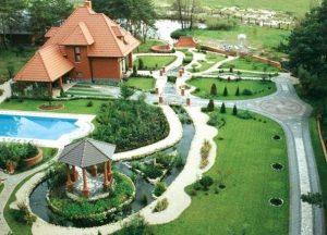 Расположение бассейна при проектировании дома
