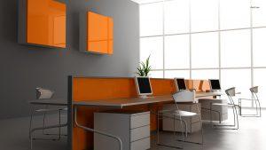 Оранжевый офис