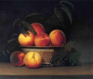 Картина с персиками