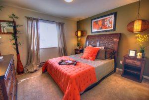 Светлая спальня по фен-шуй
