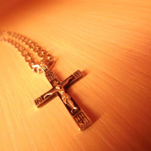 Крестик в дар
