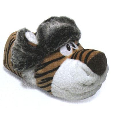 тапки-игрушки, тапки мужские с тиграми