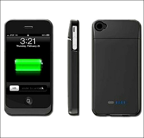 Чехол с зарядкой для iphone 5