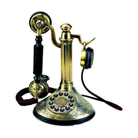 Телефон-канделябр