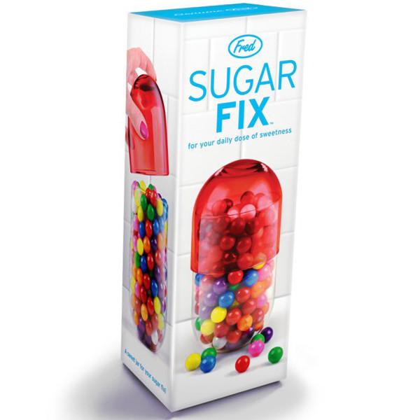 Банка sugar fix в упаковке