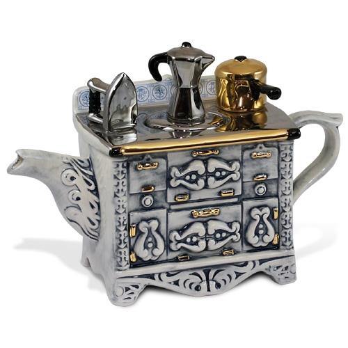 Серый чудо-чайник