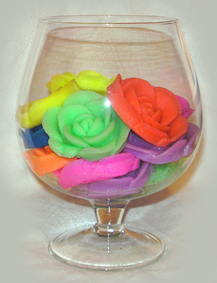 цветы из геля