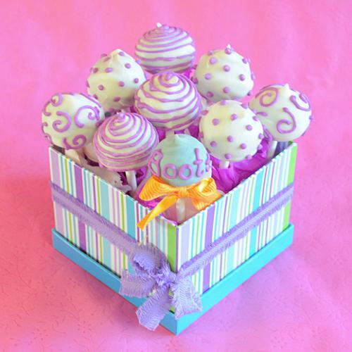 Готовые кейк-попсы