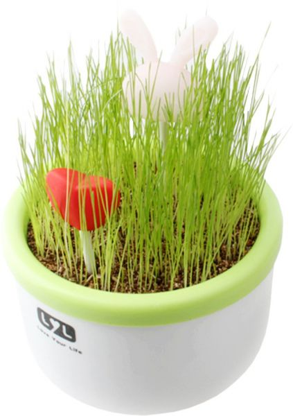 Необычный ночник Love+трава