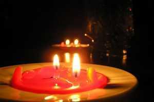 приворот на красные свечи