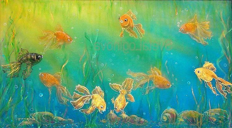 Рыбки по фен-шуй для денег