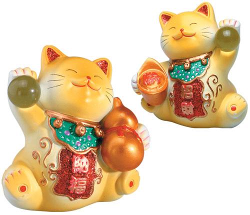 Кошки по фен-шуй
