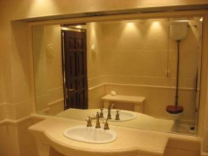 Зеркало в ванная комнате