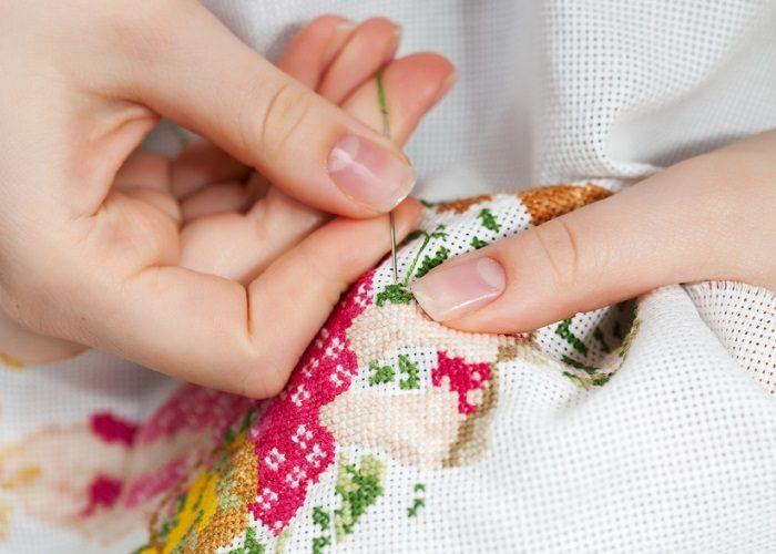 Вышивка беременной