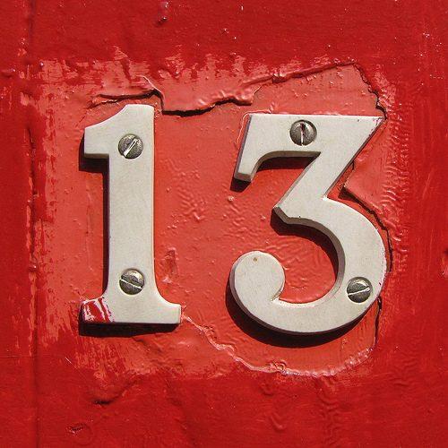 Энергия числа 13