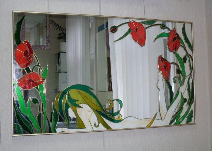 Красивое зеркало в подарок